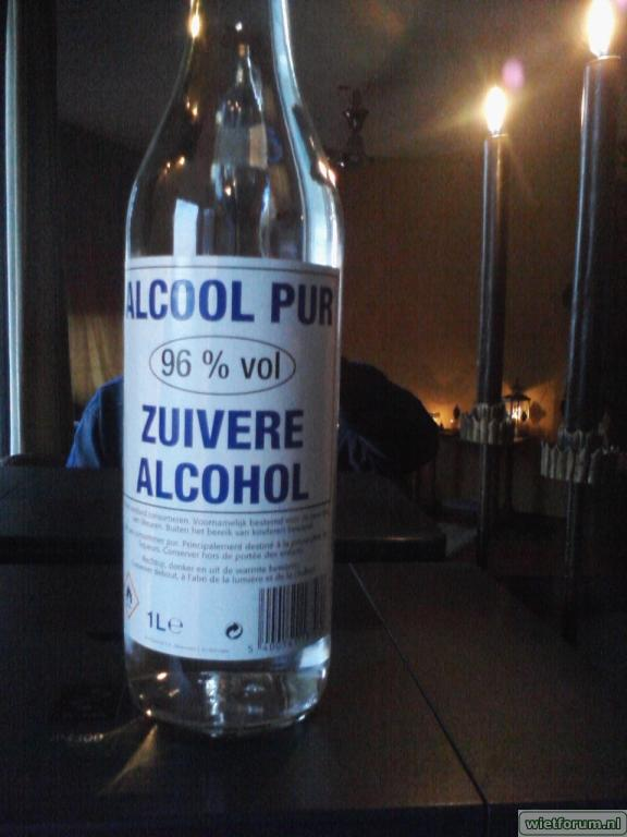 Zuivere alcohol colruyt
