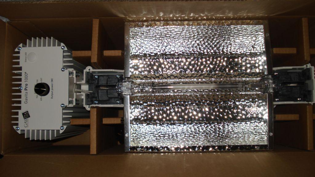 Shackzilla scrog 1000 watt gavita pro  - Sannie's Corner - OpenGrow