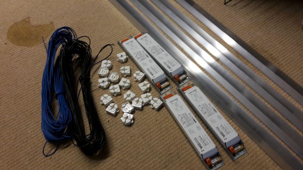 de bouw van een tl armatuur 8x36watt t8 wietforum