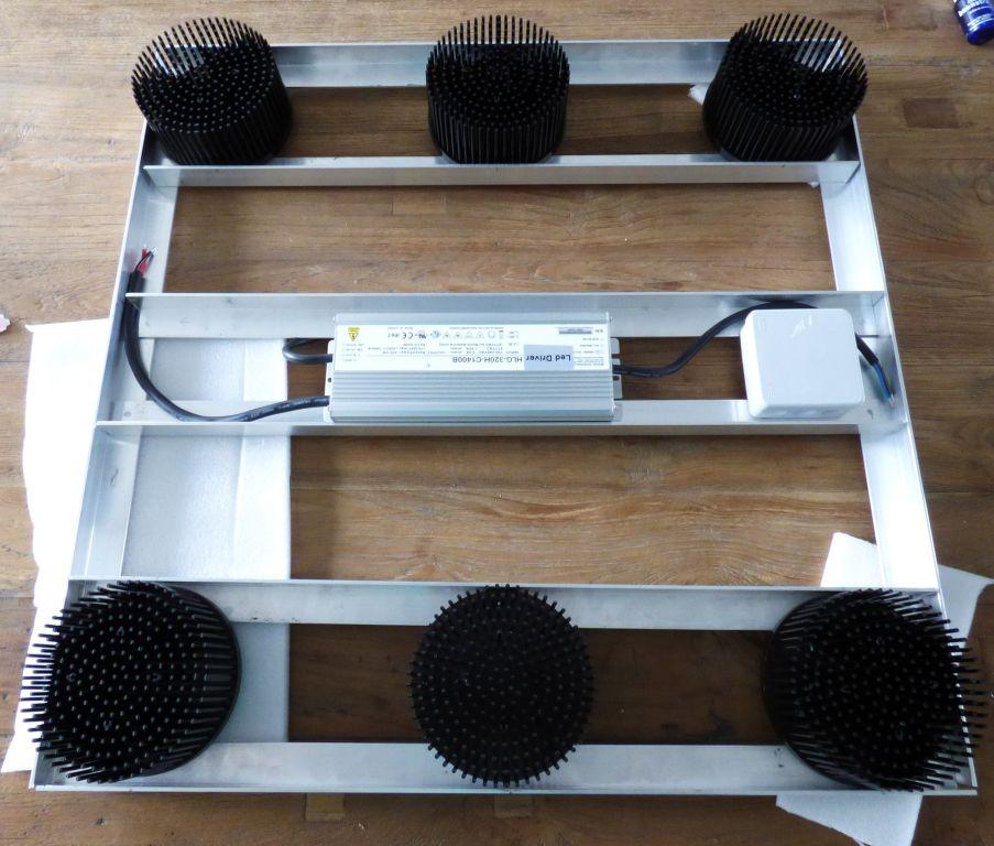 300 Watt Diy Cree Cob Led Fixture Grow Room Design